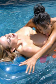 Kelly Madison nude on inflatable